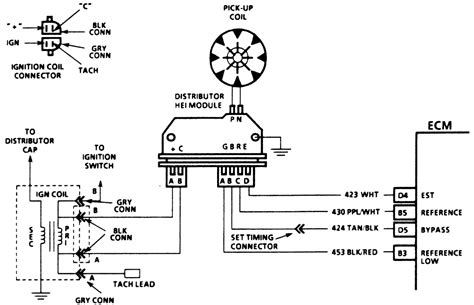 chevy 350 hei distributor wiring diagram 40 wiring