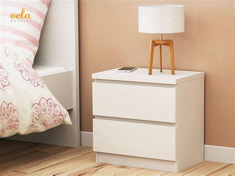 mesitas noche blancas mesitas de noche blancas baratas modernas vintage madera