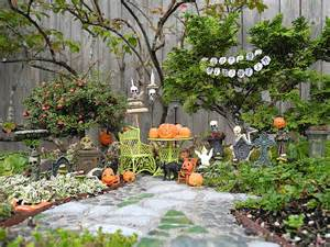 Online Shopping Home Decoration Items decorating fun in the miniature halloween garden the