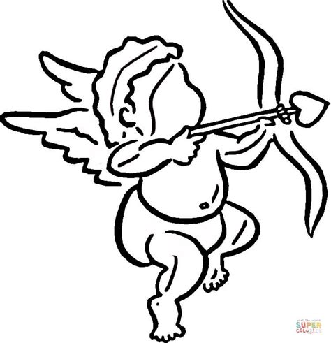 cupid s view coloring book for everyone books cupid makes choice coloring page free printable coloring