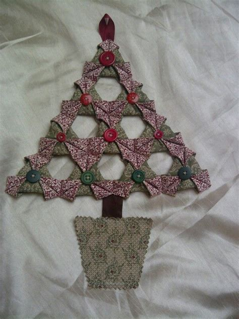Origami Fabric Tree - 1000 images about japanese folded patchwork on