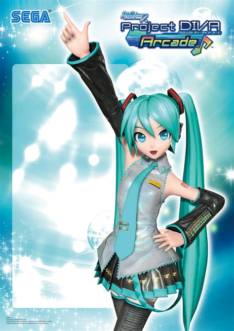 Poster Vocaloid Character Hatsune Miku Greatest Idol project arcade poster by pinkaura8 on deviantart