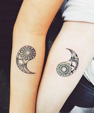 matching yin yang tattoos 21 matching tattoos we swear you won t regret top