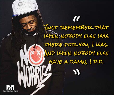 Quotes From Rap Songs Lil Wayne