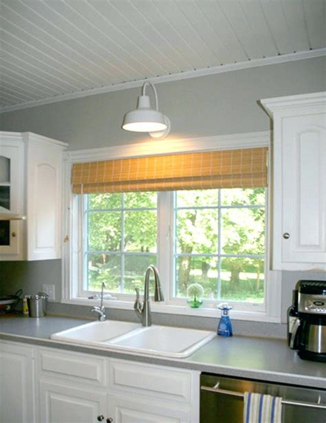pendant light kitchen sink distance from wall the sink lighting lighting ideas