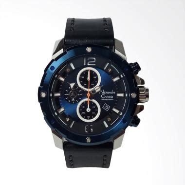 Jam Tangan Pria Alexandre Christie Ac6142mc Chronograph Silver Black jual alexandre christie chronograph jam tangan pria silver blue ac6410mc harga