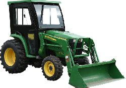 john deere 3032e, 3038e tractor cabs and cab enclosures