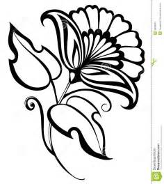 Beautiful Black And White Designs Beautiful Black And White Flower Hand Drawing Floral