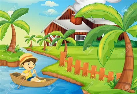 free clipart river boat boat on river clipart clipground