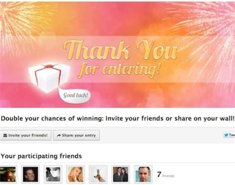 Types Of Sweepstakes - how to choose the right type of facebook contest social media examiner