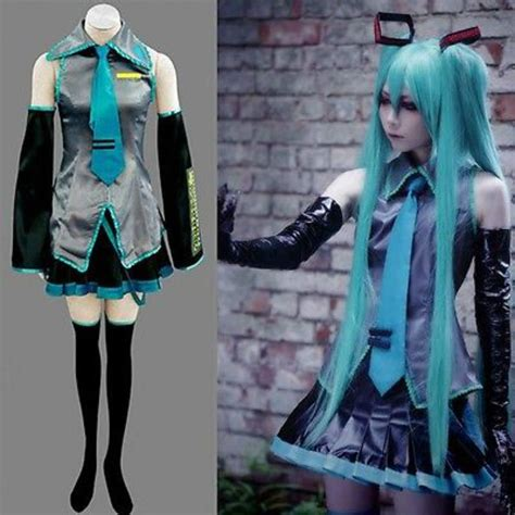 Anime Costumes by Vocaloid Hatsune Miku Costume Anime Free