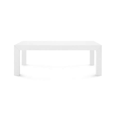 Bungalow 5 Coffee Table Bungalow 5 Parson Coffee Table White Clayton Gray Home