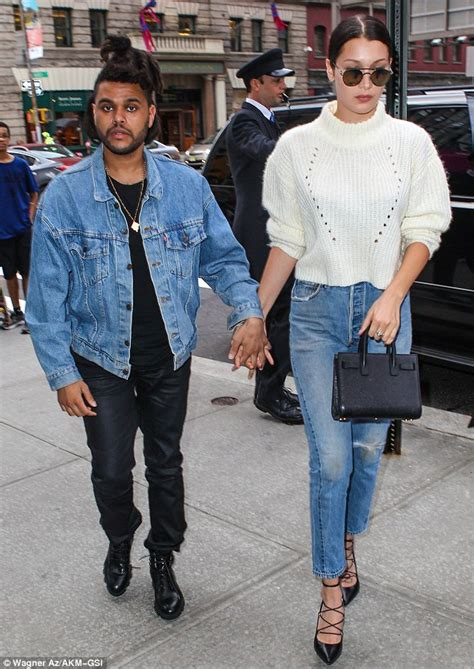 yolanda foster wearing converse bella hadid with the weeknd after revealing she has lyme