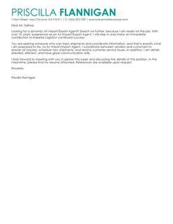 Offer Letter Export air import export cover letter exles government cover letter sles