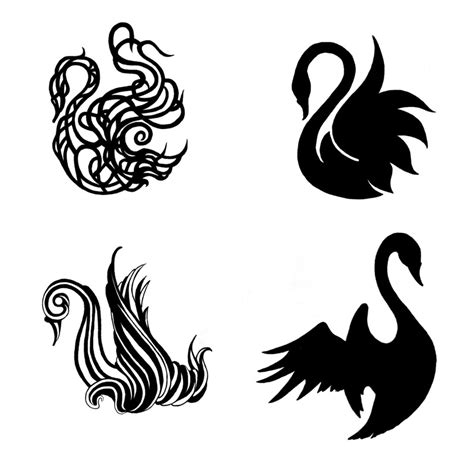 swan tattoos by thisinfinitetrip on deviantart