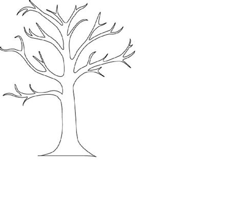 bare tree outline cliparts co