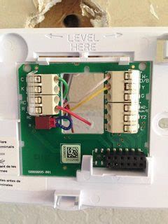 Honeywell Rth9580wf Wiring Diagram Honeywell Thermostat Wiring Diagram Wiring Diagram Elsalvadorla Where To Connect C Wire At Furnace For Honeywell Wi Fi Thermostat Home Improvement Stack Exchange