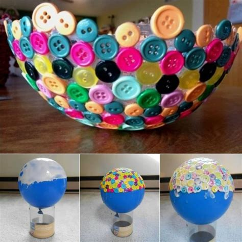 awesome craft projects 30 awesome craft to do with buttons home designing