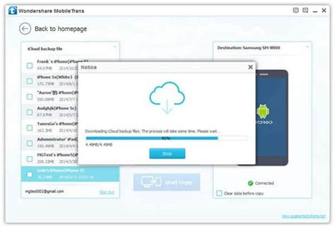 transfer icloud to android how to transfer contacts from icloud to samsung galaxy