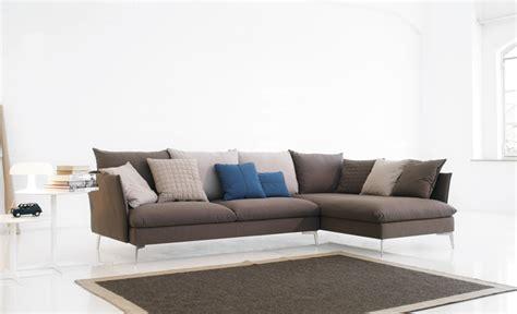 divano morbido divano morbido classico in tessuto con penisola o angolare