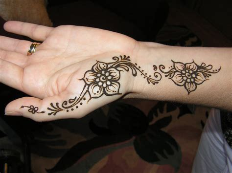 henna tattoo for beginners easy henna tattoos design