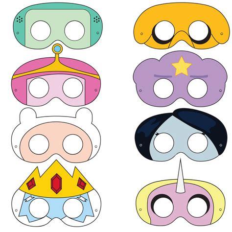 Masker Epoch adventurer printable masks adventures mask