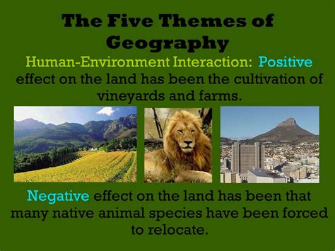 themes of geography human environment interaction human environment interaction geography 6435 notefolio