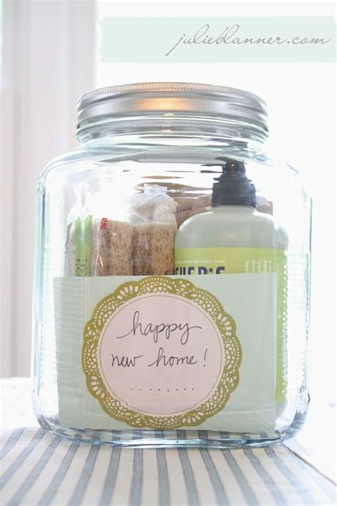 ideas for housewarming gifts housewarming gift in a jar coordinately yours by julie