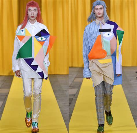 Walter Van Beirendonck 2018 Spring Summer Mens Runway   Denim Jeans Fashion Week Runway Catwalks