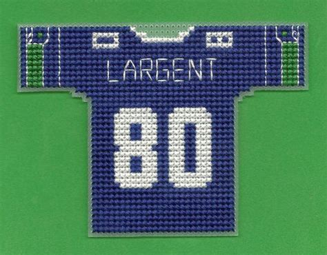 jersey stitch pattern football plastic canvas patterns throwback mini