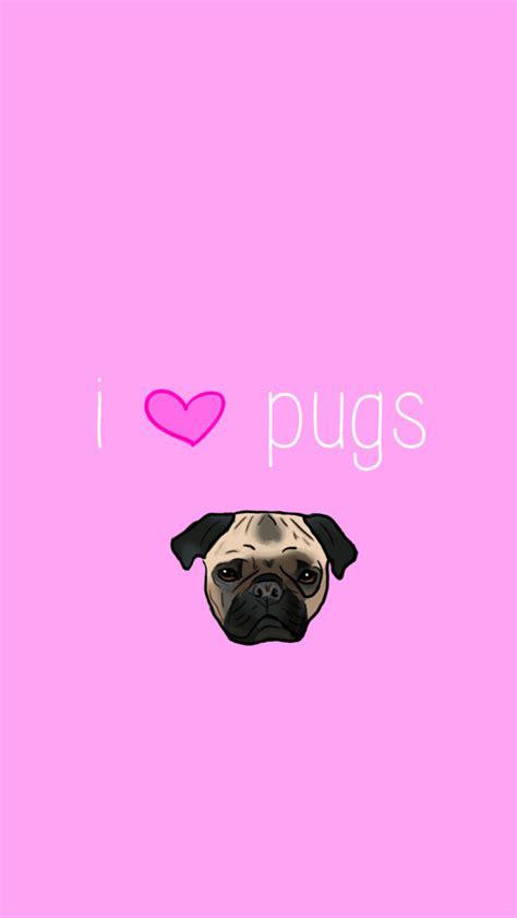 pink pug puggle wallpaper wallpapers pug wallpaper wallpaper and