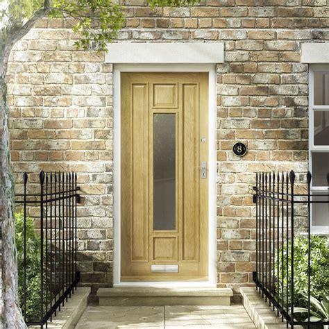 Thermal Front Doors Chatsworth Glazed Thermal External Oak Door