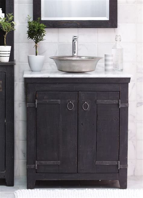 country bathroom cabinets trails 30 quot americana vanity in anvil country