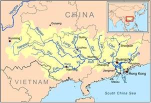 maps of rivers in china free printable maps