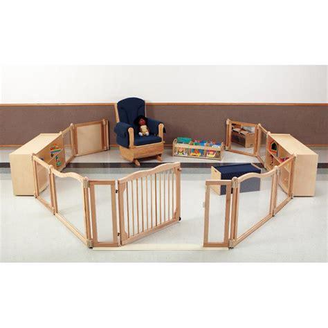 kydzsuite toddler room plexiglass cascade set 1635jc - Toddler Room Dividers