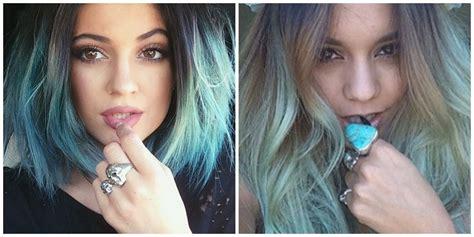 voted best hair dye kylie jenner vs vanessa hudgens who has the best blue