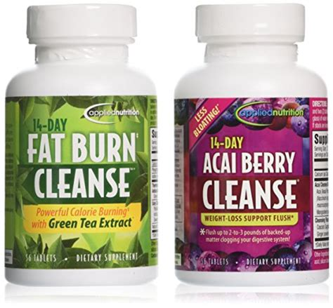 Acai Berry Detox And Colon Cleanse Reviews by Applied Nutrition 14 Day Acai Berry Cleanse 14 Day