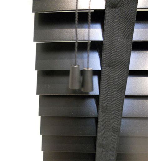 Wooden Blinds Black peppercorn black wooden blinds with
