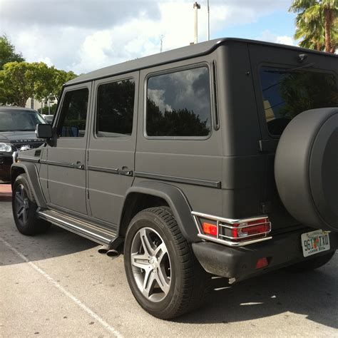 mercedes g wagon matte black matte black mercedes g wagon amg near lincoln road