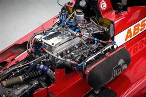 formula 3 engine on track in a formula 3 car at silverstone autocar
