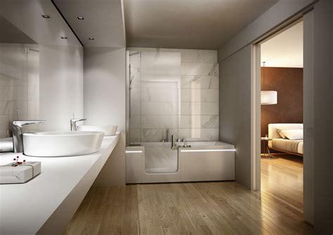 bagno moderno con vasca bagni con vasca e doccia idee ed ispirazioni idee