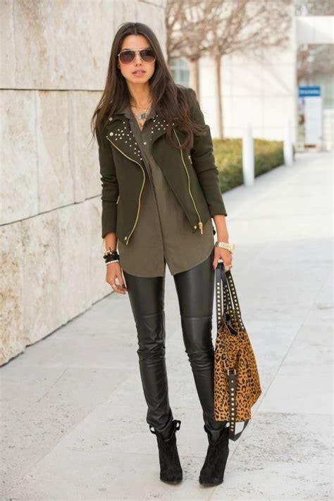 women leather pants trend   season