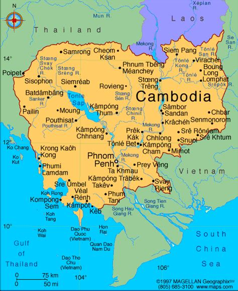 map of cambodia contemporary map of cambodia philatelic database
