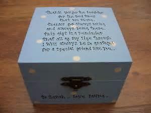 Shabby special best friend chic present trinket jewellery gift box