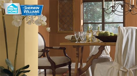 rustic refined color palette hgtv home by sherwin williams