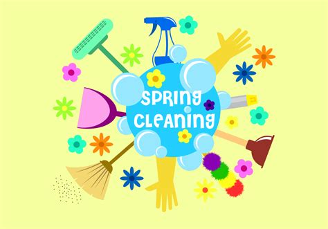 what is spring cleaning free spring cleaning vector download free vector art