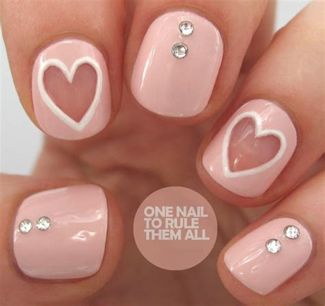 easy valentines nails top 16 nail designs new easy pretty home