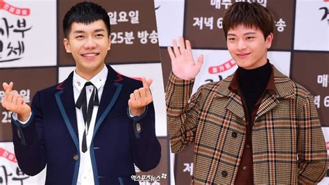 lee seung gi master in the house btob s yook sungjae opens up about working with his role