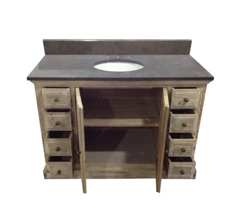 single vanity top legion 48 inch rustic single bathroom vanity wk1848