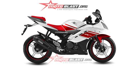 R 15 Modif by Modif Striping Yamaha R15 White Motoblast